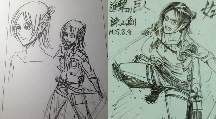 Hajime Isayama nos muestra a Eren Jaeger en mujer