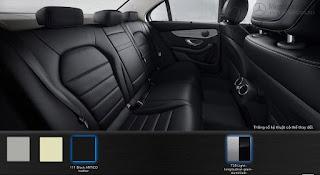 Nội thất Mercedes C200 2017 màu Đen 101