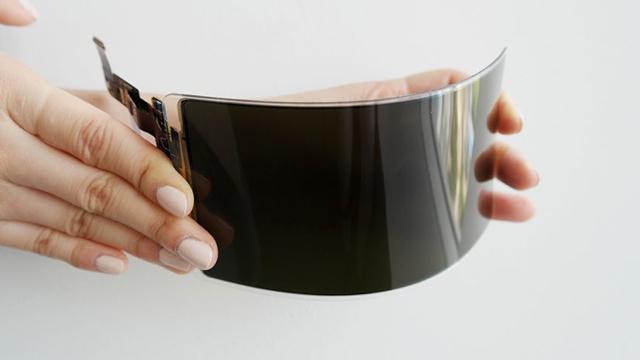Samsung desarrolla una pantalla para celular flexible e irrompible