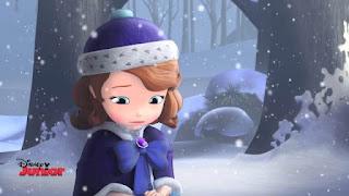 Gambar Animasi Kartun Putri Sofia Sedih