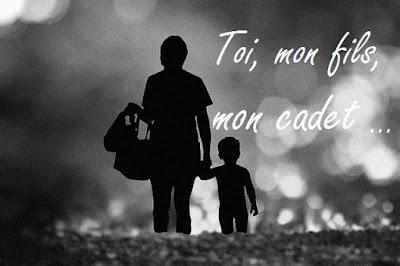Image & poème d'une mère a son fils