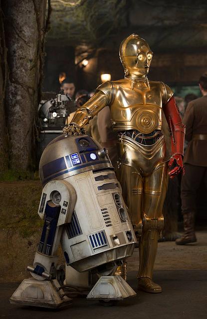 RD-D2 şi C3-PO în Star Wars: The Force Awakens