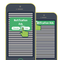 Ejemplo de monetización Push Notifications