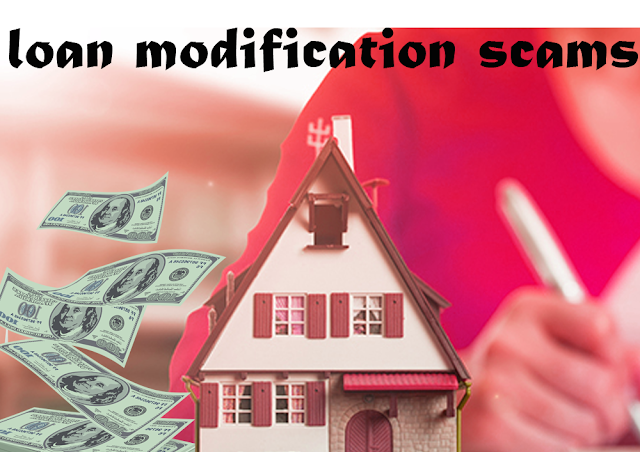 Loan modification scam