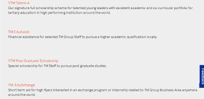 Biasiswa Yayasan Telekom Malaysia application form