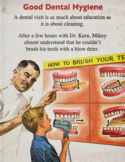 Old Timey Dentistry Go Retro