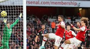كريستال بالاس يفرض التعادل الاجابي على فريق ارسنال في الجولة العاشره في الدوري الانجليزي