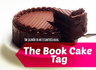The Book Cake Tag