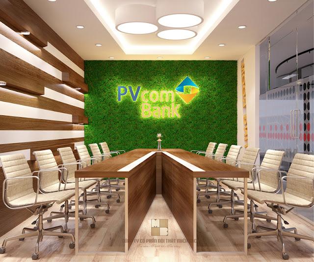 Không gian phòng họp sang trọng bởi chiếc bàn phòng họp cao cấp với những đường nét thiết kế cùng chất liệu