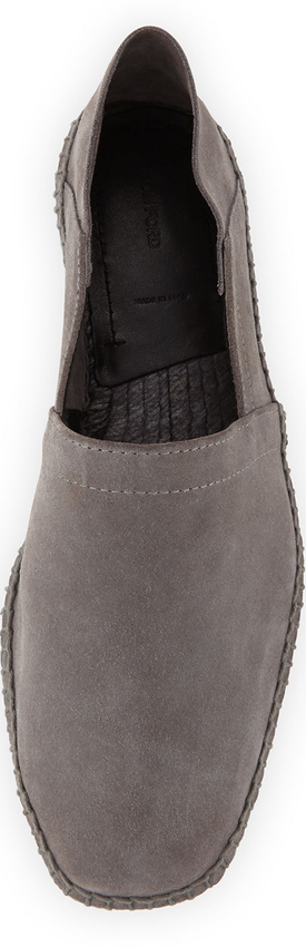 TOM FORD Suede Slip-On Espadrille