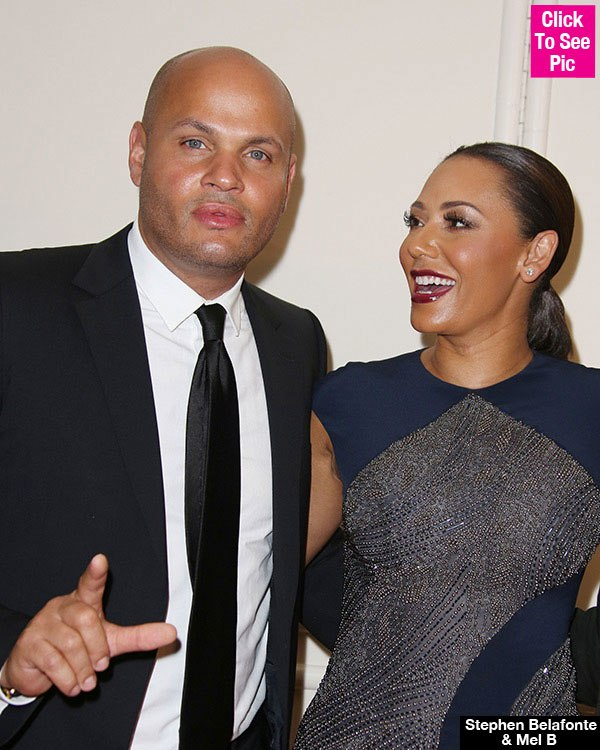 Stephen Belafonte Shares 'Threesome' Pic With Ex Mel B Amid 'Open' Romance Rumors
