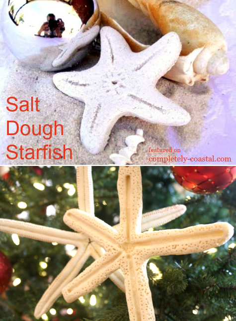 handmade salt dough ornaments