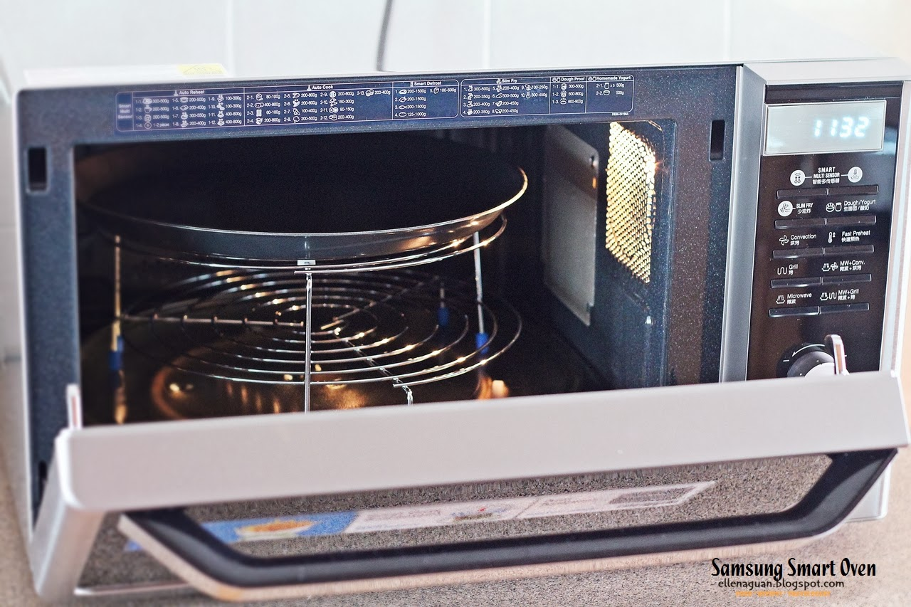 Baking Cake In Microwave Convection Oven