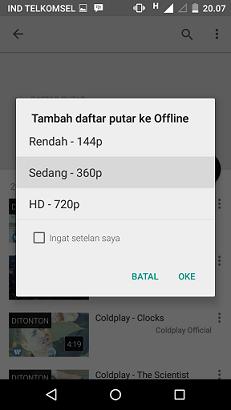 Cara Menonton Video YouTube Offline Tanpa Koneksi Internet di HP Android