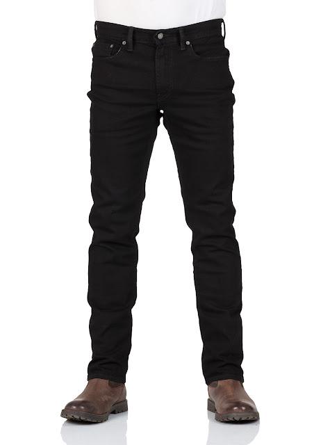 Levi's® Herren Jeans 511® - Slim Fit - Schwarz - Nightshine
