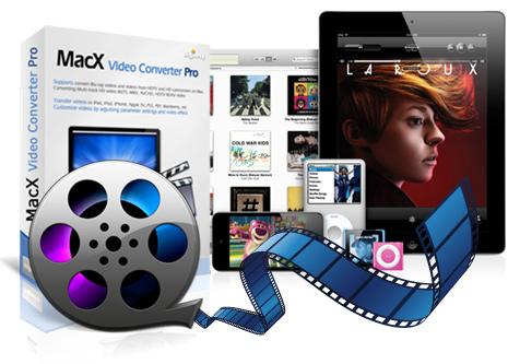 برنامج MacX لتحويل مقطع الفيديو الى عدة صيغ على هاتفك المحمول مجانى