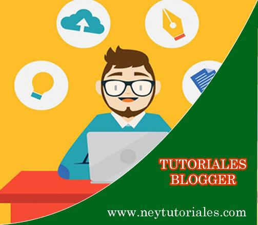tutoriales blogger