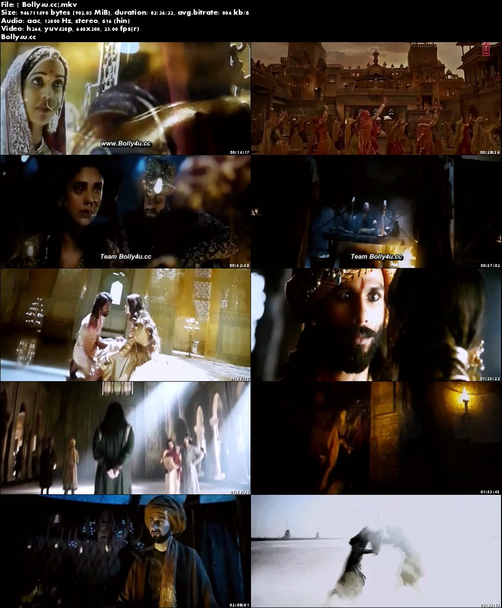 Padmaavat 2018 Pre DVDRip Full Hindi Movie Download x264 Hd