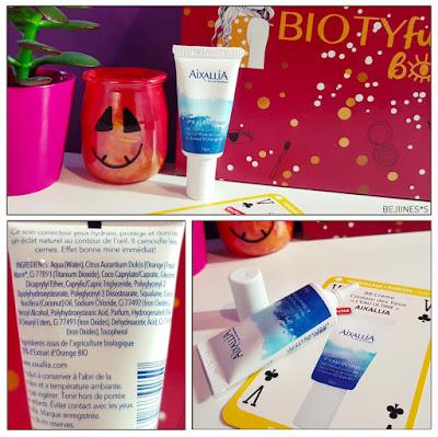 "BIOTYfull Box ""L'Emerveillée"" crème yeux bb crème aixallia"