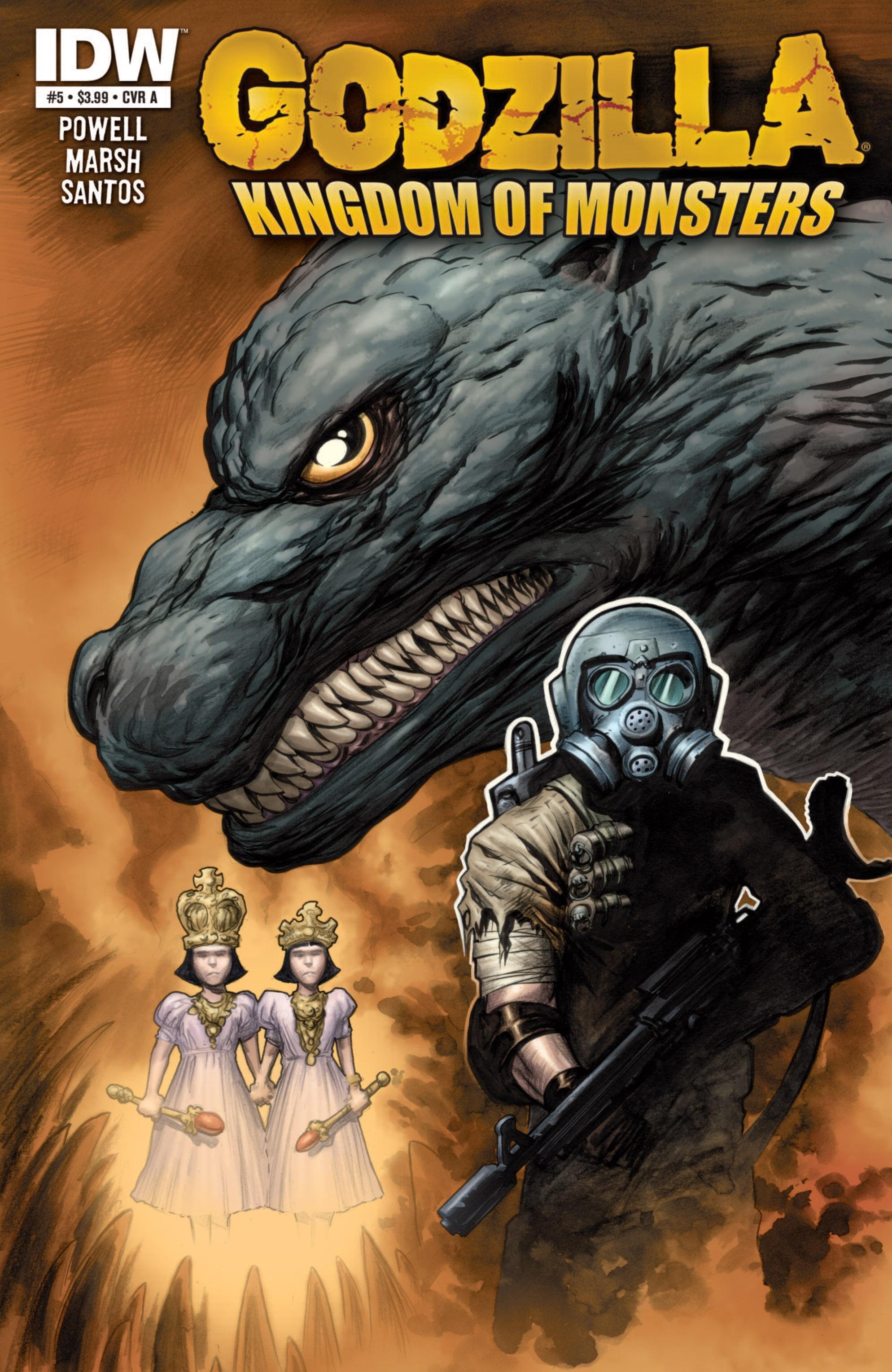 Godzilla: Kingdom of Monsters 5 Page 1