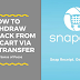 How To Withdraw Cashback From Snapcart via Bank Transfer