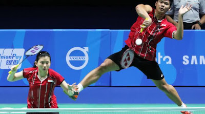 Ganda Campuran Indonesia Melaju Ke Final All England 2016