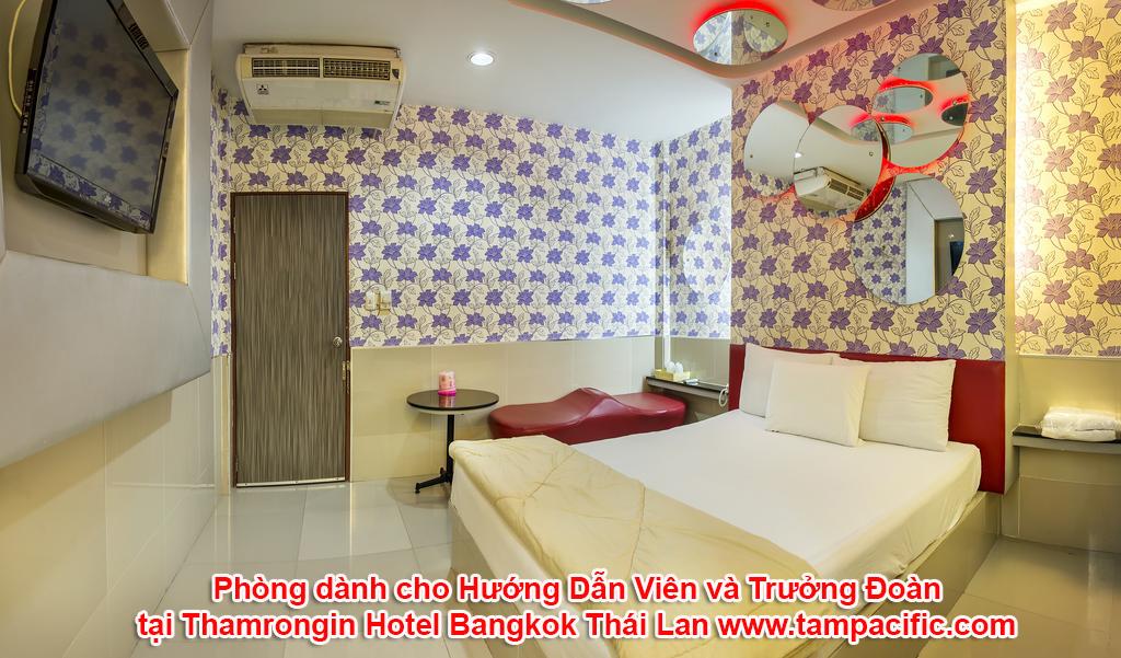 Khách sạn Thamrongin Hotel tại Bangkok Thái Lan