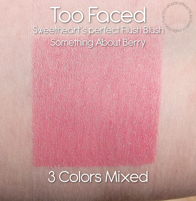 TOO FACED  Sweetheart's Perfect Flush Blush.Something About Berry