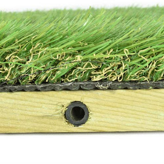 Greatmats outdoor deck artificial turf tile