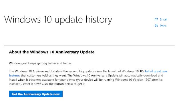 Download Windows 10 Anniversary Update