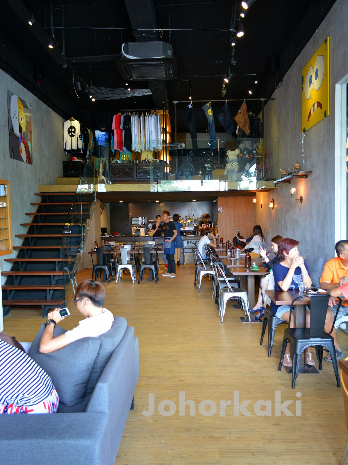 Headmost Cafe Just Want Coffee Johor Bahru