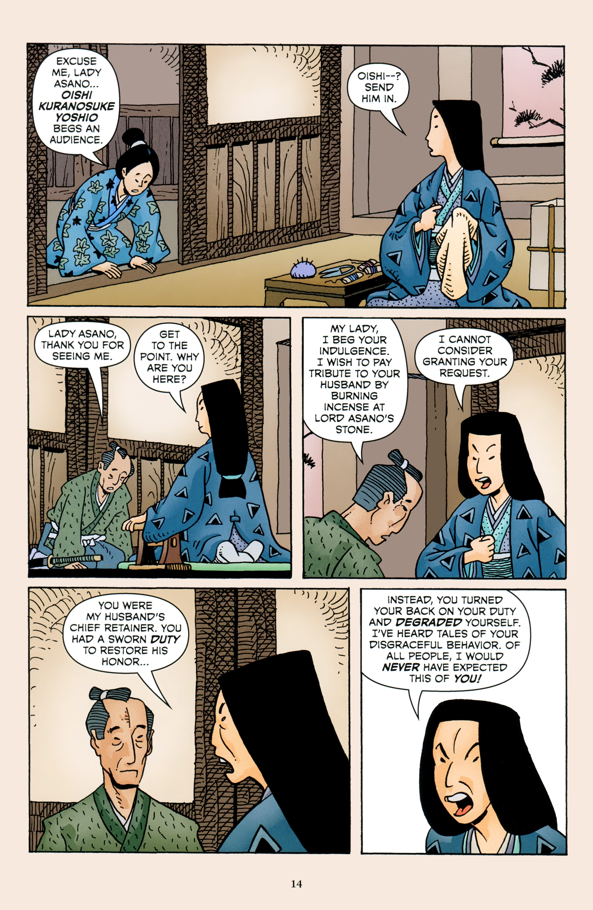 Read online 47 Ronin comic -  Issue #4 - 16