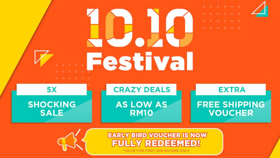 MR.DIY shopee mall 10.10 festival