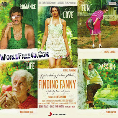 Cover Of Finding Fanny (2014) Hindi Movie Mp3 Songs Free Download Listen Online At worldfree4u.com