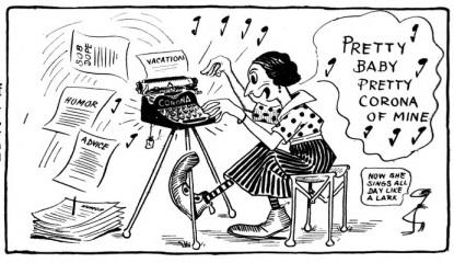 oz.Typewriter: Salute to the Corona 3 Portable Typewriter