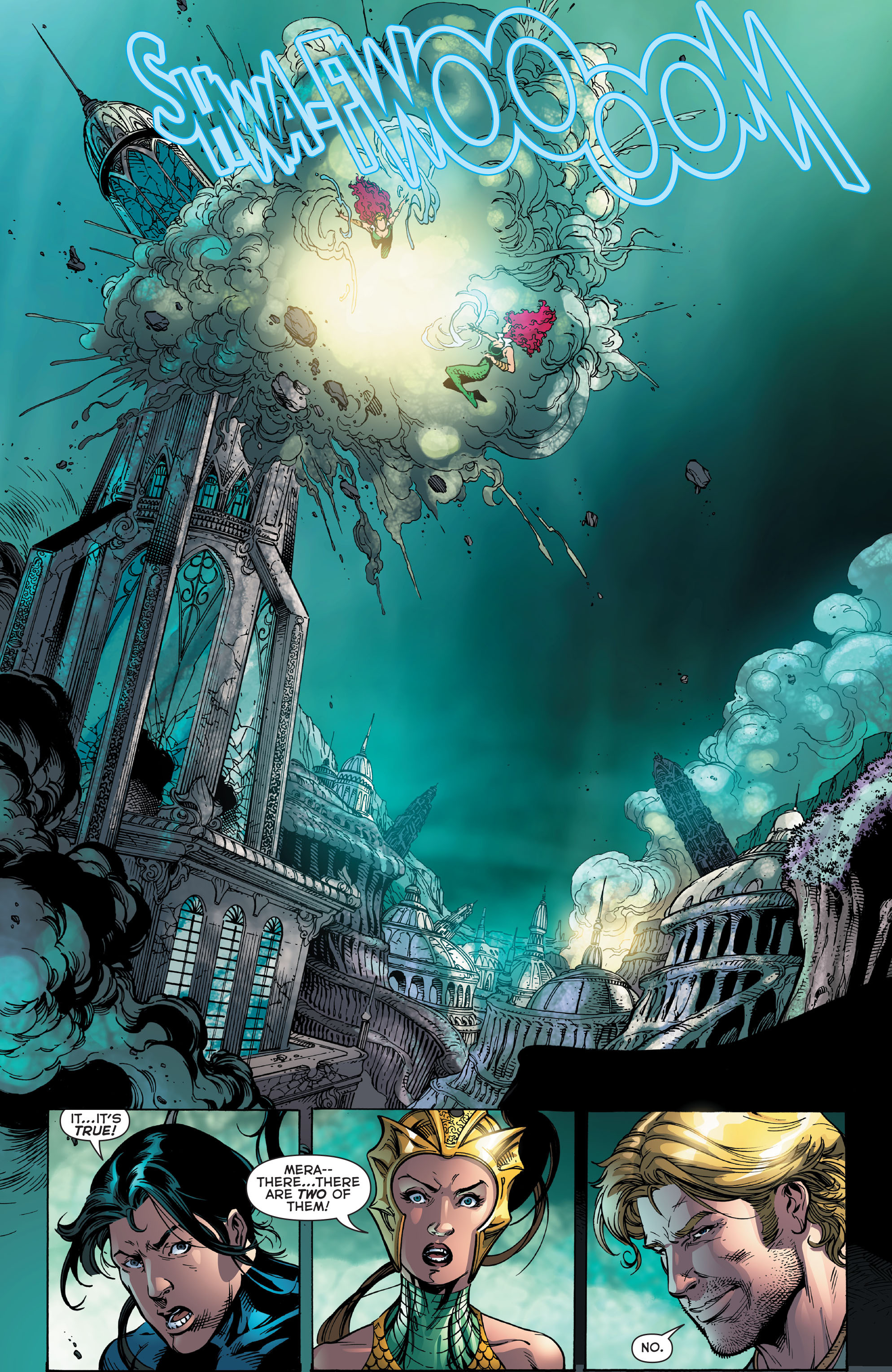 Read online Aquaman (2011) comic -  Issue #48 - 9