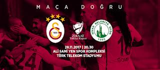 Spor, Galatasaray, Sivas Belediye Spor, Ziraat Türkiye Kupası, Hangi Kanalda, Saat Kaçta,