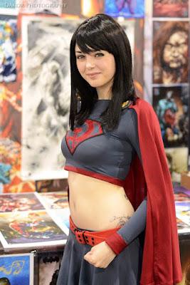 Best Cosplay Supergirl yang Paling Cantik dan Seksi (18+)