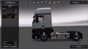 Plastic Parts & More for Actros MP4 V 1.25