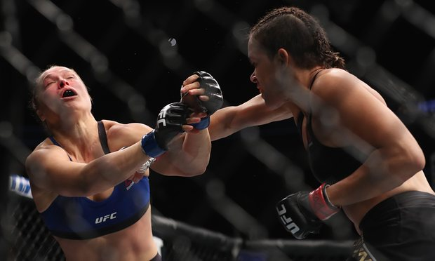 onda Rousey's night was done in less than a minute against Amanda Nunes