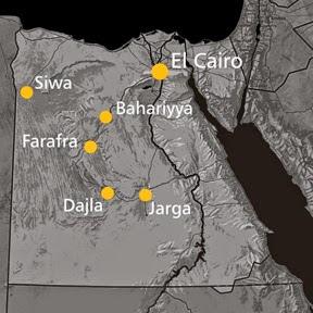Mapa Rutas en 4x4