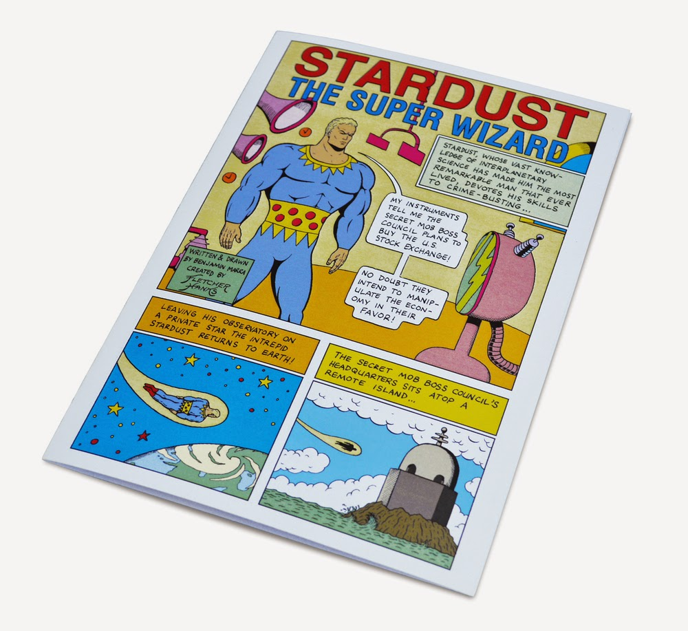 Stardust the Super Wizard Mini-Comic Book by Benjamin Marra