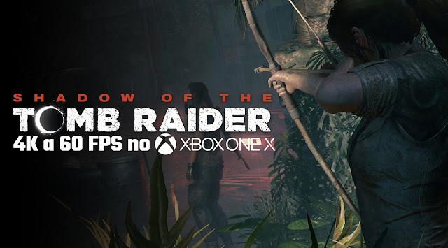 Shadow of the Tomb Raider não rodará em 4K a 60FPS