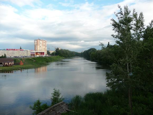 Суми. Річка Псел