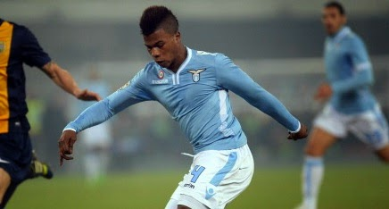 Arsenal in for Lazio forward Keita Balde Diao