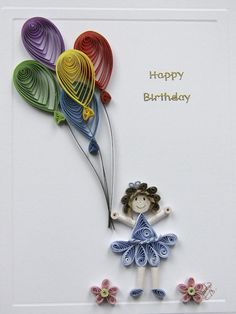 2015 handmade quilling birthday greeting card designs for girls elegant handmade quilling paper birthday greeting card designs for girls quillingpaperdesigns m4hsunfo