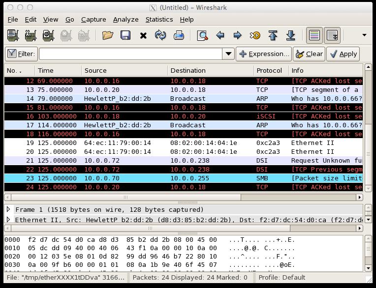 sFlow: Wireshark