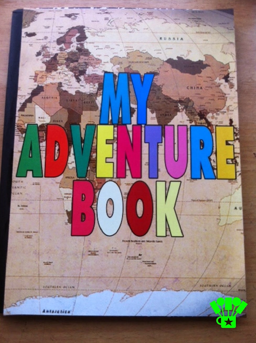 My Adventure Book DIY for an Up Party