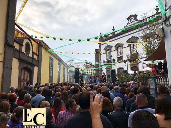 Los Lolas en concierto, Festival Cultural de Primavera Flor del Mundo, Arucas / imágenes cedidas por Juanjo Ferrera