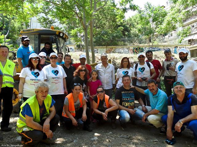 Εθελοντική δράση καθαρισμού στο Ρέμα Κωνσταντινίδη (Υφανέτ)